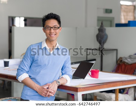 Portrait of young businessman