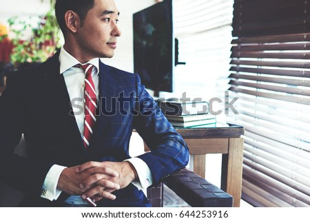 Asian face sitting