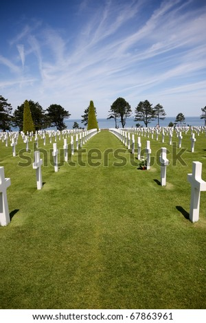 Portrait Orientation: American Graves at Normandy