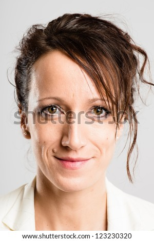 portrait real people high definition grey background