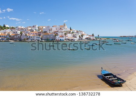 Portugal - Algarve - Ferragudo - stock photo