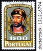 PORTUGAL - CIRCA 1972: a stamp printed in the Portugal shows Tome de Sousa, the First Governor-general of the Colony of Brazil, 150th Anniversary of Brazilian Independence, circa 1972 - stock photo
