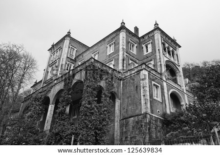 Portugal, Sintra village, old private house