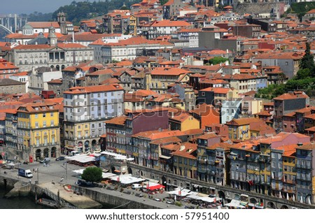 Portugal, view of Porto
