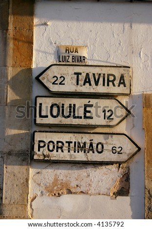 Portugese road signs