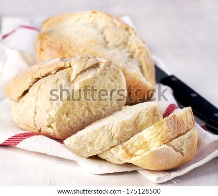 Portuguese buns - stock photo