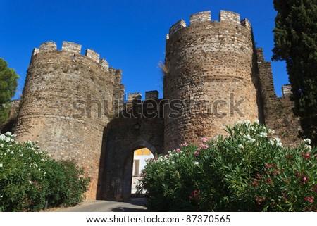 Portuguese Castle - stock photo