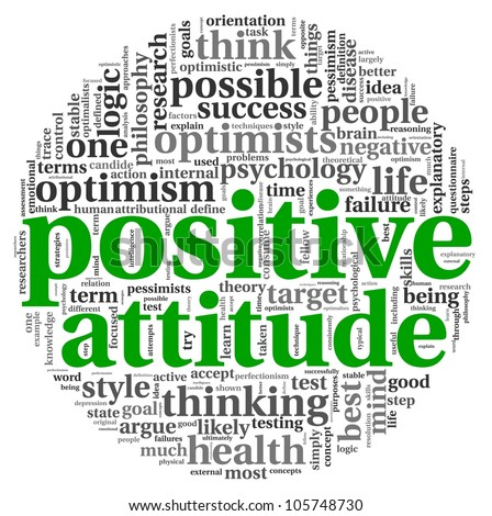 how to create positive attitude