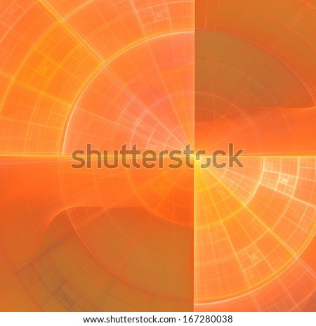 Positive golden striped background