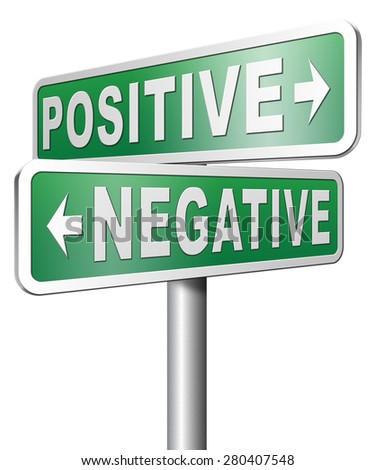 positive or negative thinking pessimistic or optimistic view