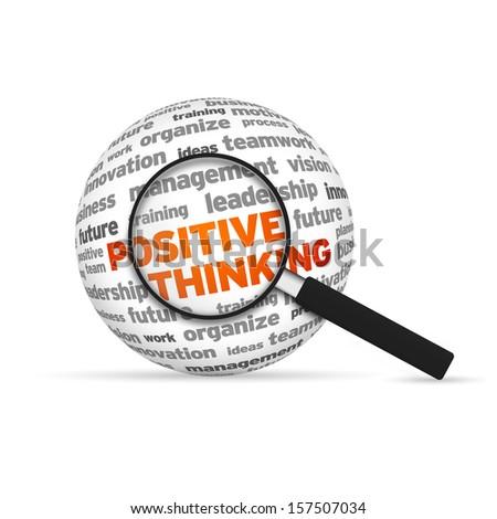 Positive Thinking - stock photo