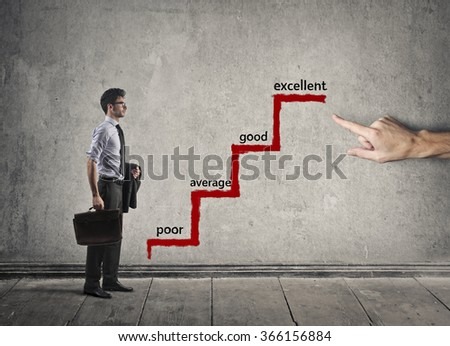 Positive thinking - stock photo