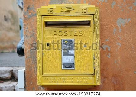 Postbox - stock photo