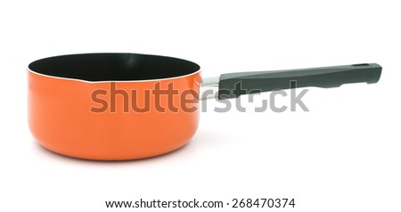 Pot stove on white background - stock photo