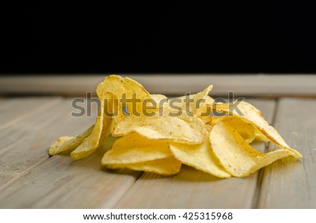 potato chips and dill