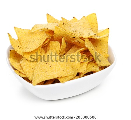 Potato chips on the table