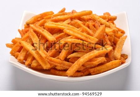 Potato Fries im-2 - stock photo