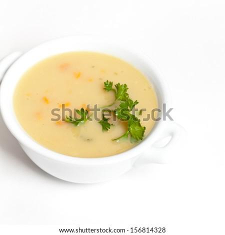 Potato Soup - stock photo