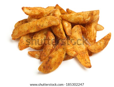 Potato wedges with a spicy Mexican coating.