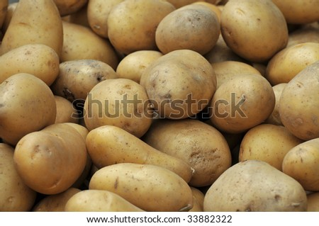 potatoes background
