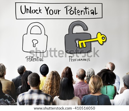 Potential Performance Ability Accomplishment Skill Concept - stock photo