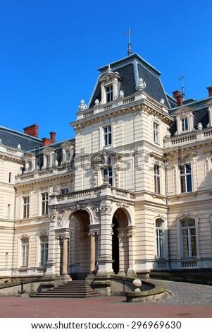 Potocki Palace (currently the Art Gallery) in Lviv, Ukraine - stock photo