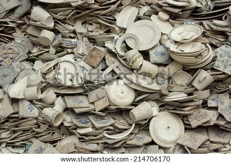 pottery zuiderzee ethnic museum Holland Enkhuizen - stock photo