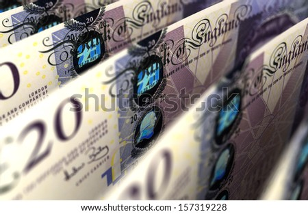 Pound Close-up - stock photo