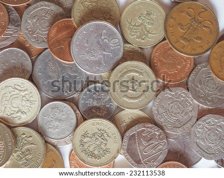 Pounds and pence - currency of the United Kingdom