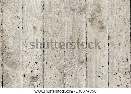 Poured concrete surface detail - texture - stock photo