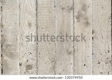 Poured concrete surface detail - texture - stock photo