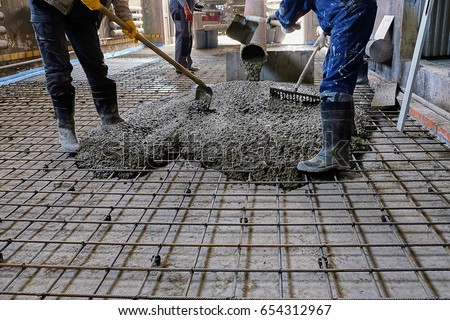 Pouring Concrete Stock Images Royalty Free Images