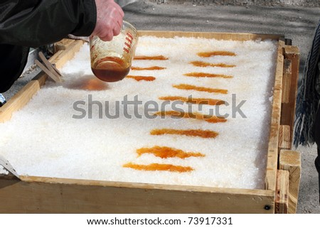 recipe: maple taffy without snow [38]