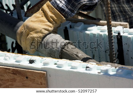 Concrete forms stock images royalty free images vectors for Foam forms for concrete