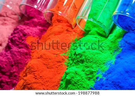 powder coating products - stock photo