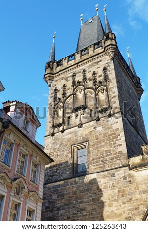 Powder Tower in Prague, Czech Republic