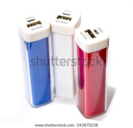 Power banks. New age of battery.