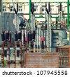 power generator - stock photo