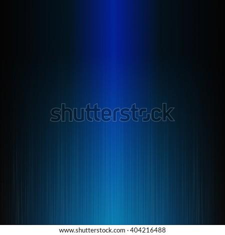 power light, blue line waveform graphic, shine recorder, music electric - stock photo