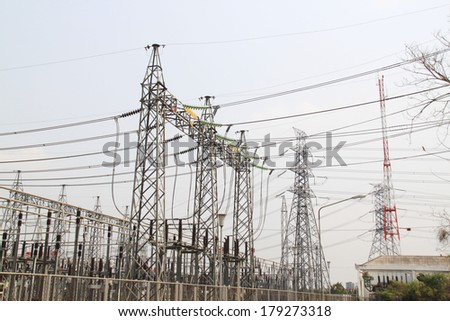 Power Line and Insulator