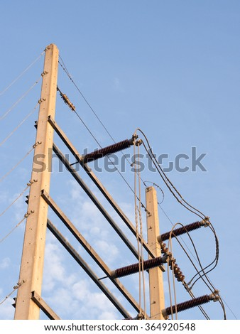 power line pole