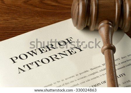 Power Attorney Legal Document Stock Photo Edit Now - Legal documents power of attorney