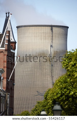 Power-plant in Geertruidenberg, Holland