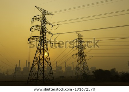 Power plant powerhouse electric industry