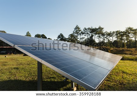 Power plant using renewable solar energy with sun light