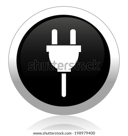 Power plug button