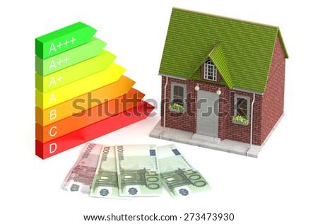 Power saving and economy concept - stock photo