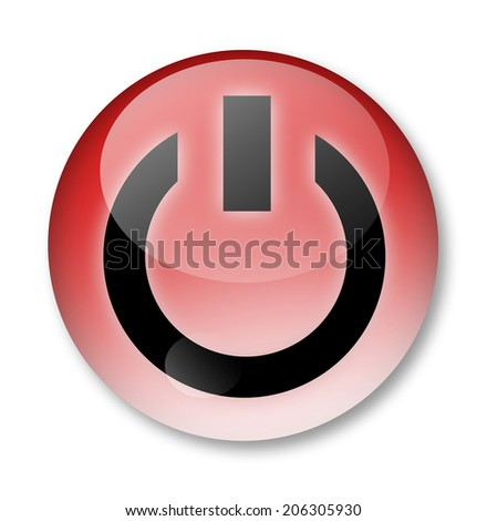 power sign  - stock photo