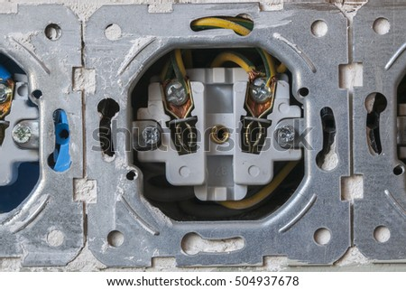 power socket, repair outlet, disclosed, danger