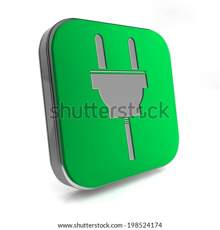 power square icon on white background